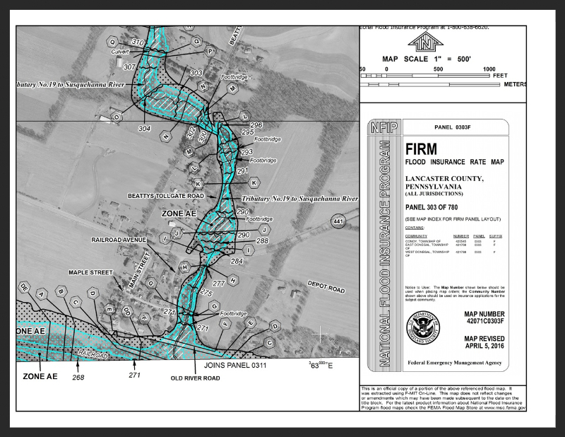 FEMA Flood Mapping Update David Miller Associates - Current fema flood maps